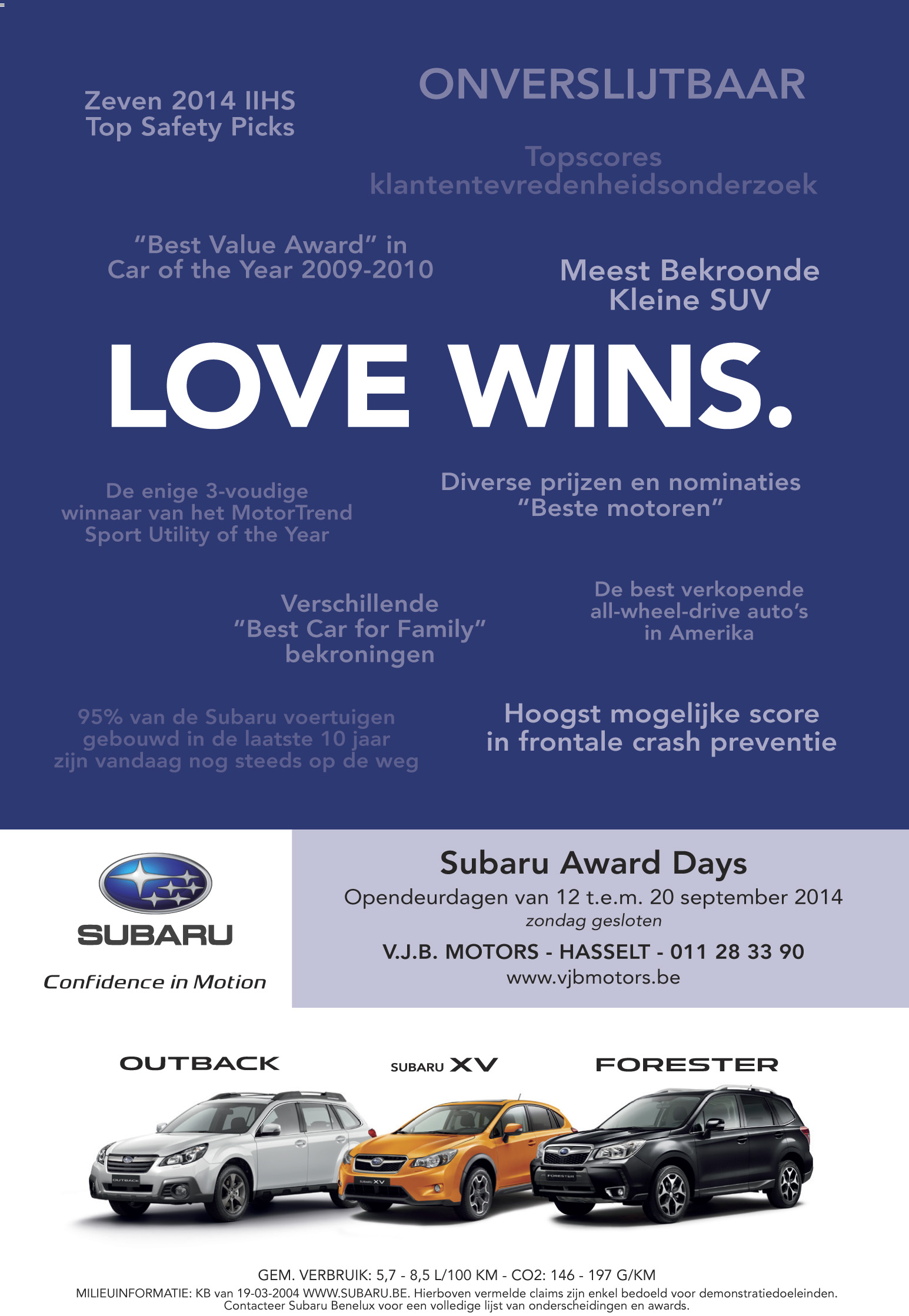 Subaru Love Wins