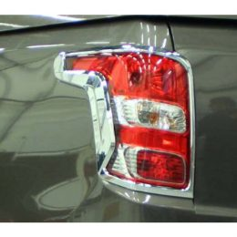 chrome achterlichtomlijsting Mitsubishi L200