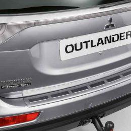 Achterbumper beschermplaat Mitsubishi Outlander PHEV