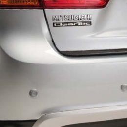 parkeersensoren achter mitsubishi asx
