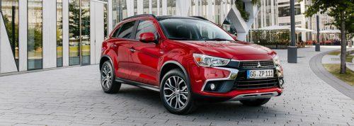 Mitsubishi ASX 2017 side front