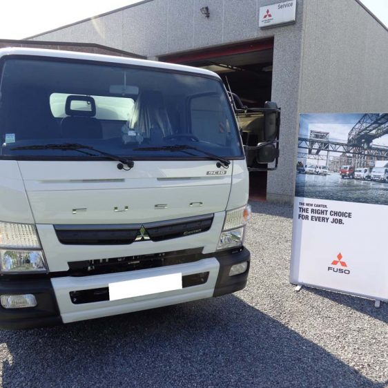 Mitsubishi Fuso Canter TF2 9C18 AMT
