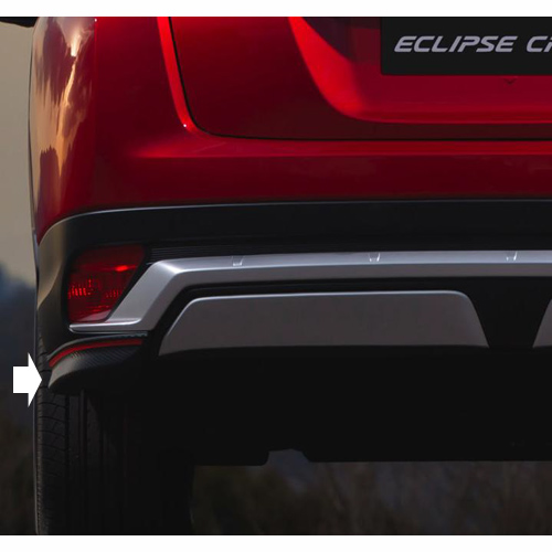 bumperhoeken achter mitsubishi eclipse cross