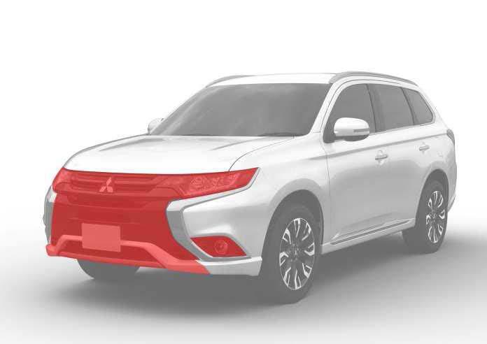 Mitsubishi Outlander PHEV Front changes