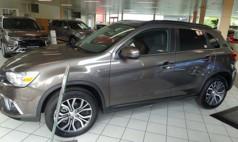 mitsubishi asx benzine diamond granite brown