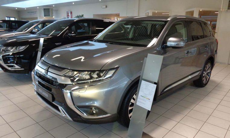 Mitsubishi Outlander 7-zit