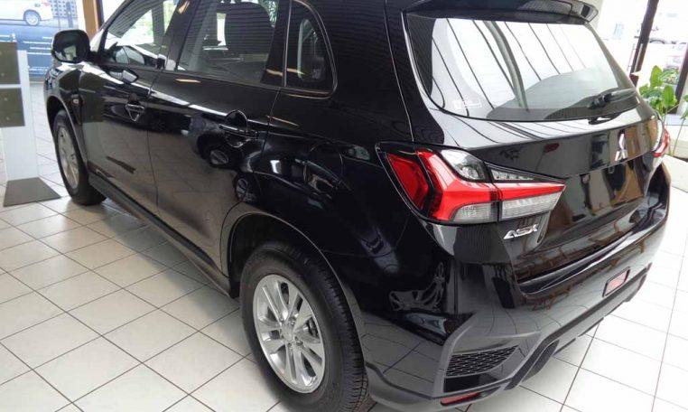 Mitsubishi ASX intense CVT MY20 zwart