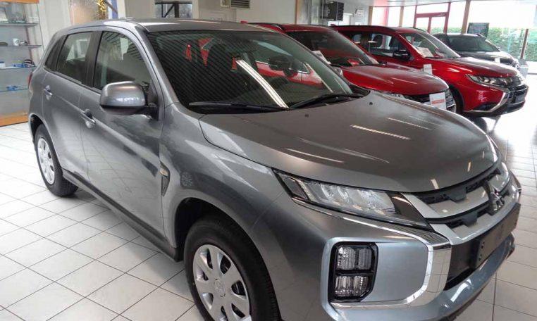 Mitsubishi ASX Invite MY20 titanium grey