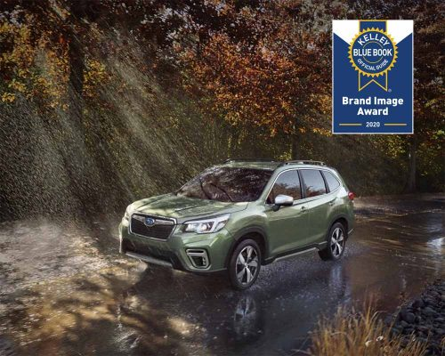 Subaru Forester Kelly Blue Book Brand Image 2020